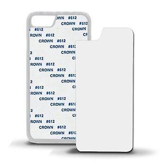 ONX3 Pack of 3 White Covers Heat Sublimation Blank Cases for Samsung Galaxy S7 Edge Phone Model