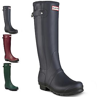 Womens Hunter Original Slim två tonas Wellington Festival snö regn stövlar