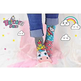 Forente Oddsocks-Unicorn jentene Socks