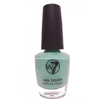 W7 Cosmética verde esmalte de uñas 15ml