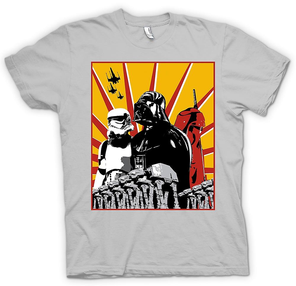 Herr T-shirt - Star Wars - Darth Vader & Storm Tropper