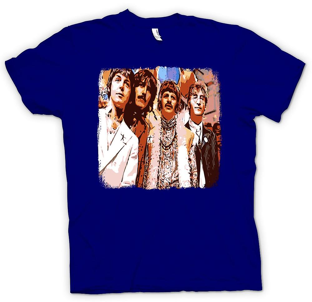 Mens T-shirt - Beatles - Pop-Art - 60 s