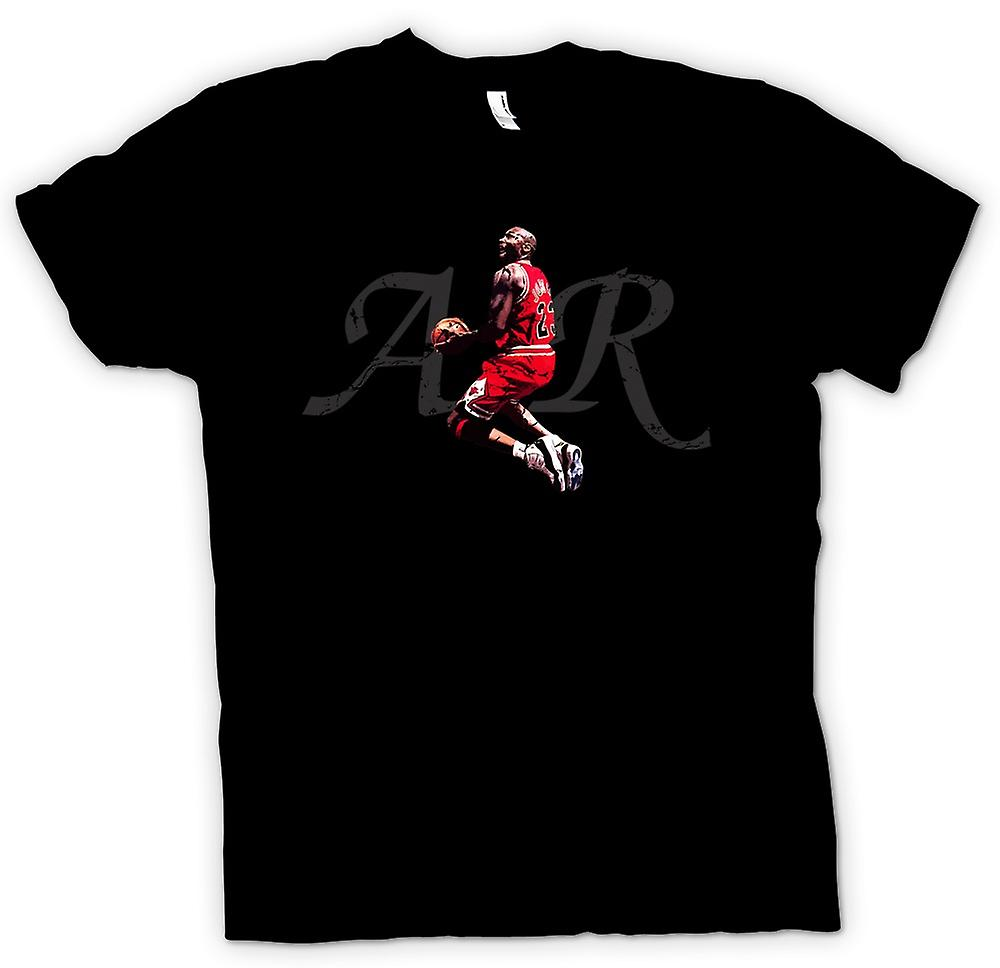Mens t-shirt - Air Jordon - Cool basket