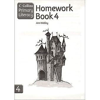 Collins Primary Literacy: Homework Book Bk. 4