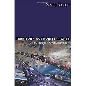 Territoire, autorité, droits du moyen âge aux Assemblages Global édition mise à jour: du moyen âge aux Assemblages Global