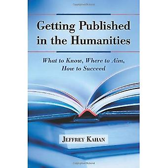 Getting Published in the Humanities: What to Know, Where to Aim, How to Succeed