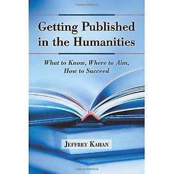 Pierwsze opublikowane w dziedzinie nauk humanistycznych: co należy wiedzieć, gdzie celem, jak odnieść sukces