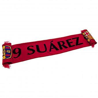 Barcelona tørklæde Suarez