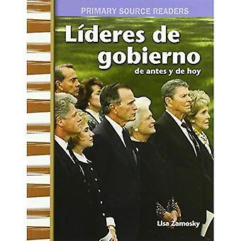 Lideres de Gobierno de Antes Y de Hoy (regeringsledare då och nu) (spansk Version) (min gemenskapen då och nu) (primär källa läsare)