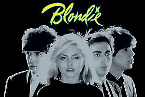 Blondie Group Shot steel fridge magnet (cv)