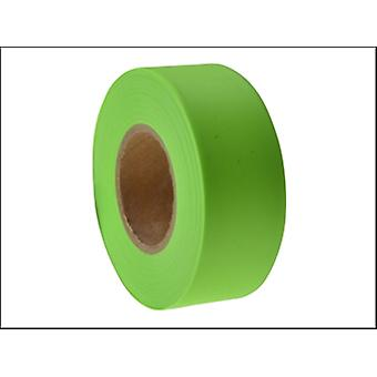 C H Hanson Flagging Tape 47m (150ft) Fluorescent Lime