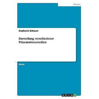Darstellung verschiedener Prsentationsmedien by Gebauer & Stephanie