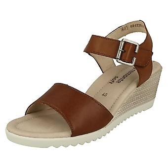 Ladies Remonte Wedge Heel Sandals D3444