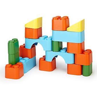 Green Toys Children's Block Set Stacking Toys BPA Free 100% Recycled