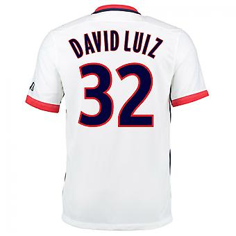 2015-16 PSG Nike weg Kit (David Luiz 32)