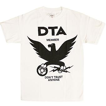 DTA RS Eagle New T-shirt White Black