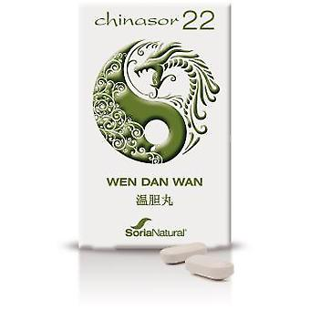 Soria Natural Chinasor 22 - Wen Dan Wan 64 gr (Herboristeria , Natural extracts)