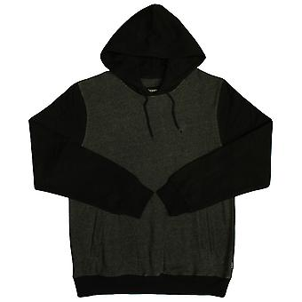 Brixton Ltd Malcom Pullover Hood Charcoal Heather Black