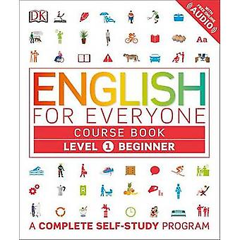 English for Everyone - Level 1 - Beginner - Course Book by DK - 9781465