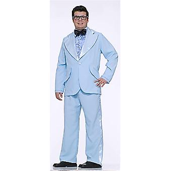 Prom King Blue Tuxedo Suit 1950s 1960s Old School Mens Costume Plus Size