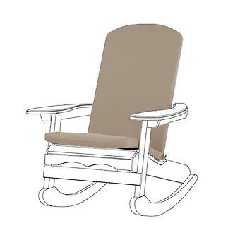 Gardenista® pedra almofada almofada resistente à água para Adirondack Chair