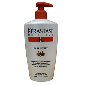 Kerastase nærende Bain satin 2 Irisome tørr og sensibilisert hår 16,9 OZ