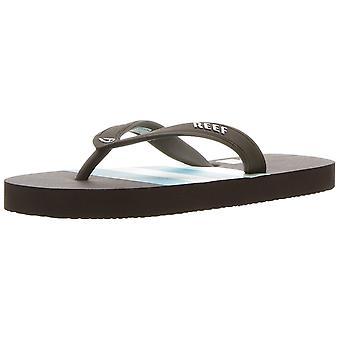 Reef Girls groom switchfoot prints Slip On Flip Flops