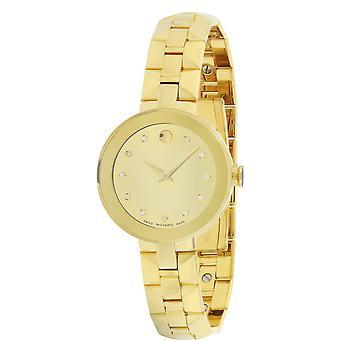 Movado Sapphire Ladies Watch 0606816