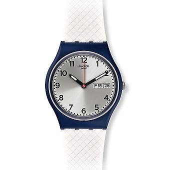 Swatch vit Delight Herrenuhr (GN720)