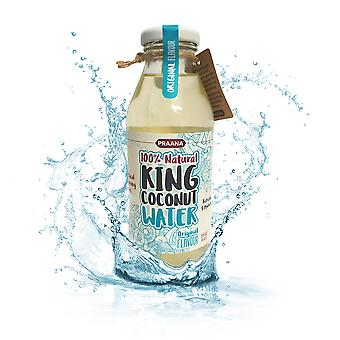 Praana King Coconut Water - 350 Ml - 64 Kcl Per Bottle