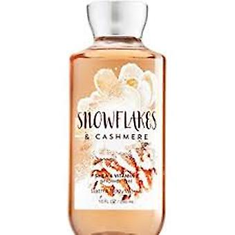 Bad & Body fungerar snöflingor och cashmere Shower Gel (2 Pack)