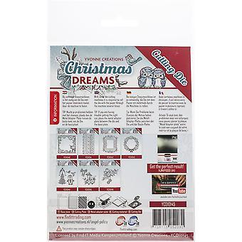 Find It Trading Yvonne Creations Die-Lantern, Christmas Dreams