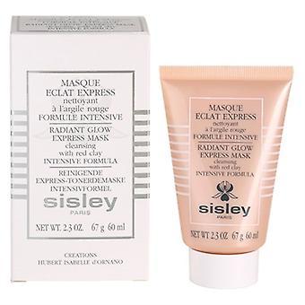 Sisley интенсивный сияющий жар маска с красной глиной 2.3 oz/60 мл