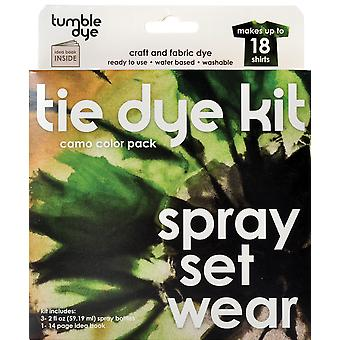 Tumble Dye Craft And Fabric Dye Kit Camo Brown Green Charcoal 6 1408
