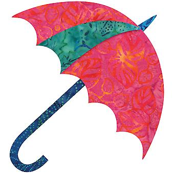 Go! Fabric Cutting Die Dancing Umbrella By Edyta Sitar 55178