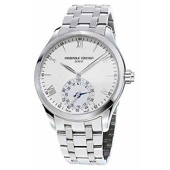Frederique Constant Horological Smartwatch Stainless Steel White Dial Sapphire FC-285S5B6B Watch