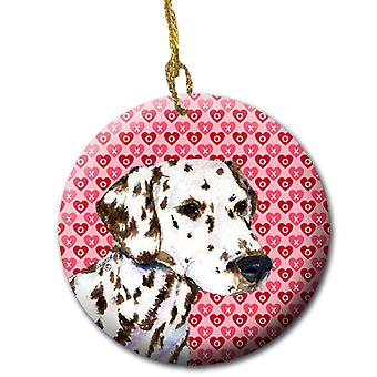 Dalmatian  Ceramic Ornament