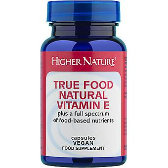 Higher Nature True Food Natural Vitamin E, 90 veg tabs