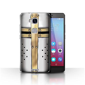 STUFF4 Case/Cover for Huawei Honor 5X/GR5/Great Crusader Helmet/Knight Armour