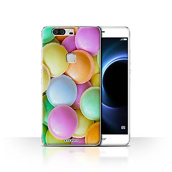 STUFF4 Case/Cover for Huawei Honor V8/Flying Saucers/Confectionery