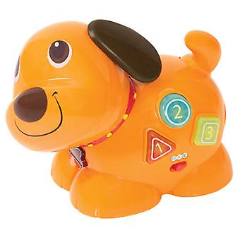 WinFun Interactive dog (Babies , Toys , Skill Development , Interactive)
