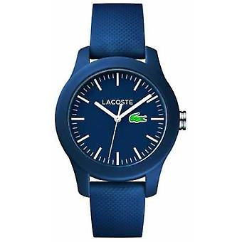 Lacoste Unisex Navy Rubber Strap Navy Dial 2000955 Watch