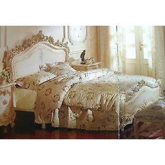 baroque bed  double bed  168x200 sleeping room antique style   Vp7711