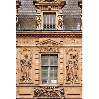 Hotel de Sully in Les Marais Poster Print by Brian Jannsen
