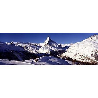 Matterhorn Zermatt Switzerland Poster Print