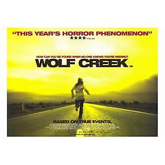 Wolf Creek Filmplakat (17 x 11)