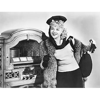 Juke Box Jenny Iris Adrian 1942 Photo Print