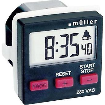 Count-down timer digital Müller TC 14.21 230 Vac 8 A/230 V