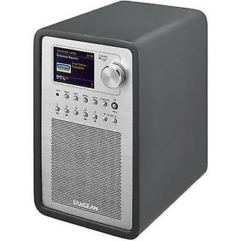 Internet Table top radio Sangean WFR-70 (SmartLink 1) AUX, DAB+, Internet radio, FM, USB Spotify, DLNA-compatible Grey