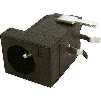 Low power connector Socket, horizontal mount 4 mm 2.1 mm Cliff FCR681465P 1 pc(s)